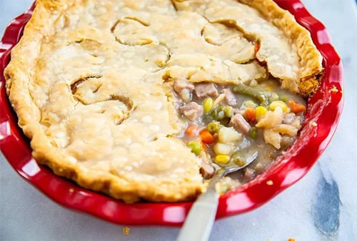 Beef Pot Pie with Veggies