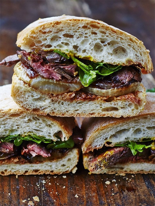 Delicious Steak Sandwiches