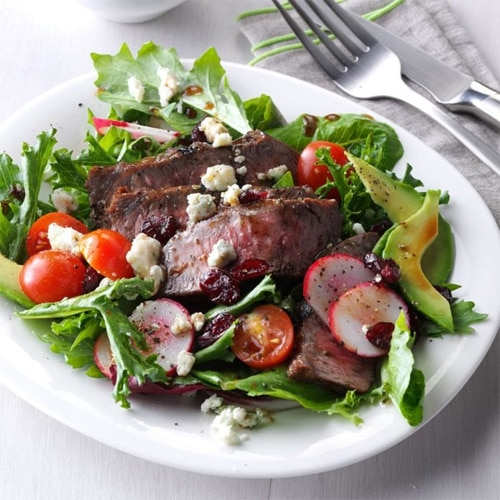 Healthy Steak Salad