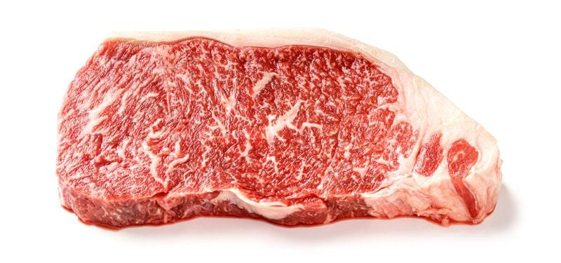 Wagyu striploin steak
