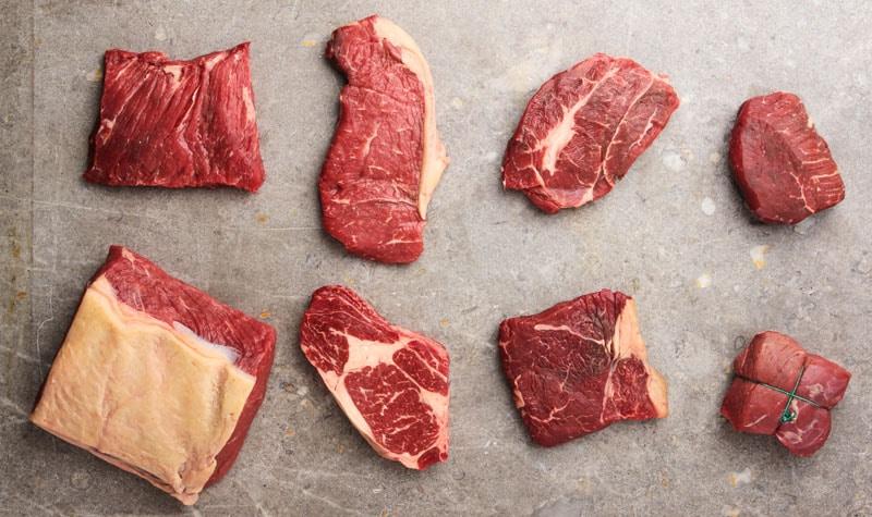 beef steak cuts