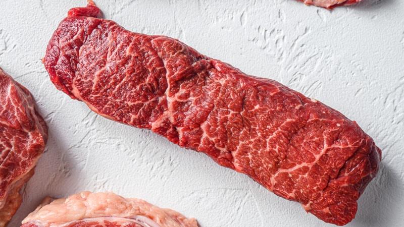 raw denver steak