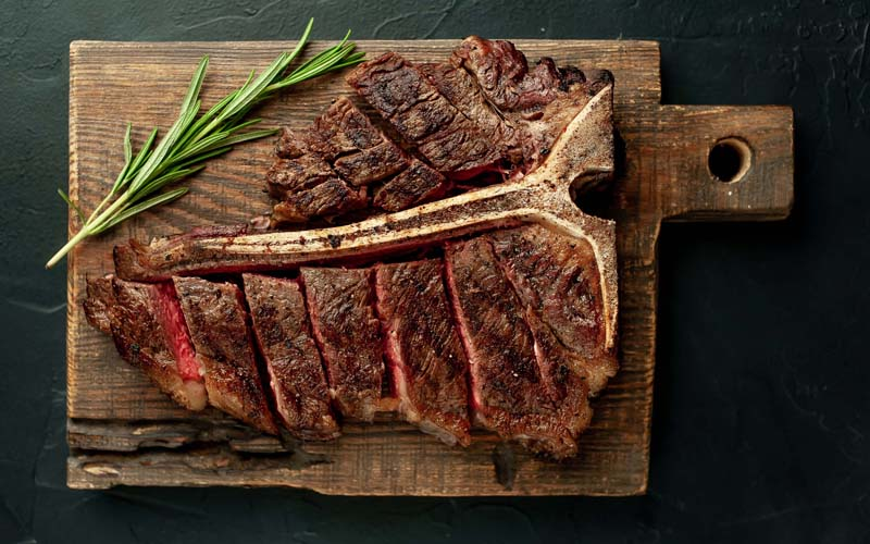 how to cut steak