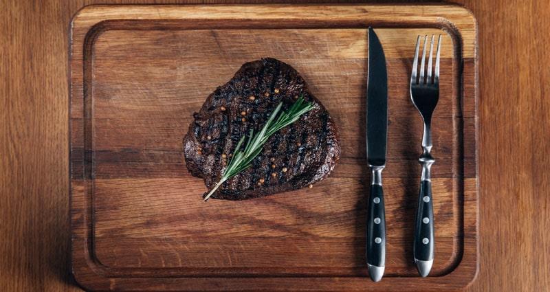 sear a steak